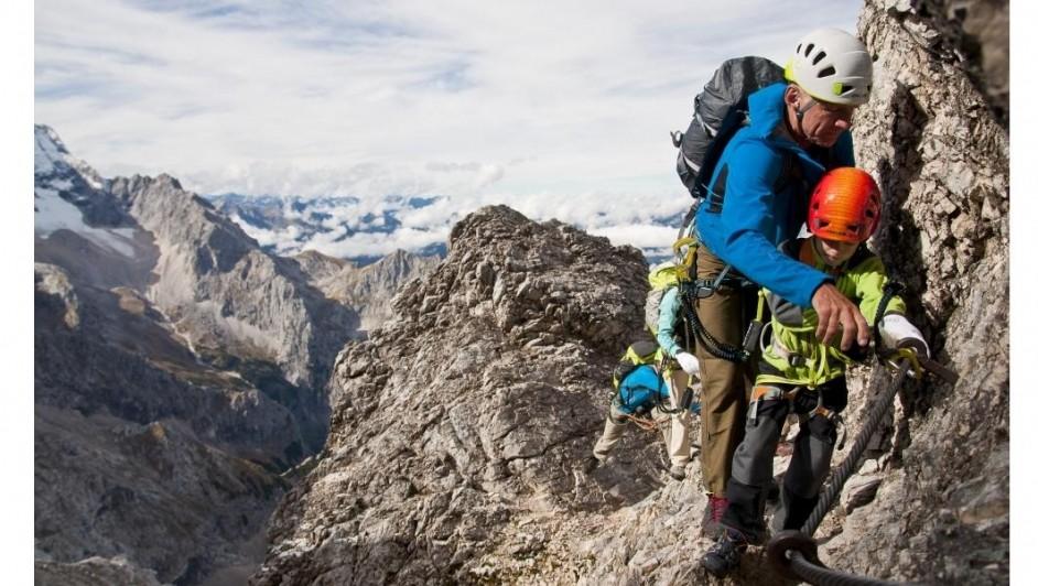Alles over klettersteigen
