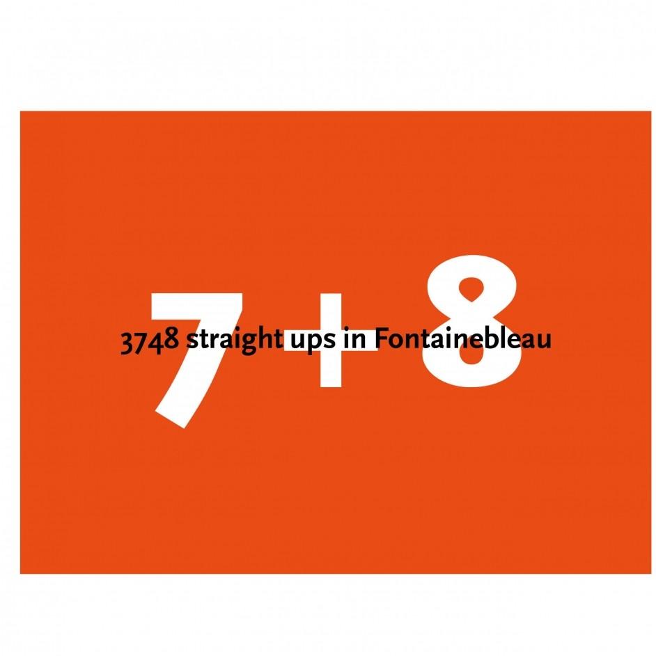 Bart van Raaij Topoboek 7 + 8 Fontainebleau