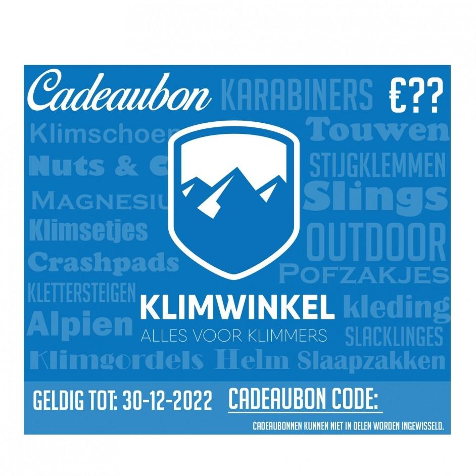 Klimwinkel Cadeaubon