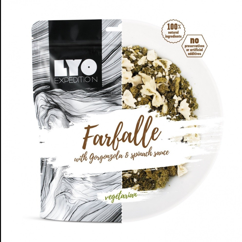 Lyo Food Farfalle in Gorgonzolasaus