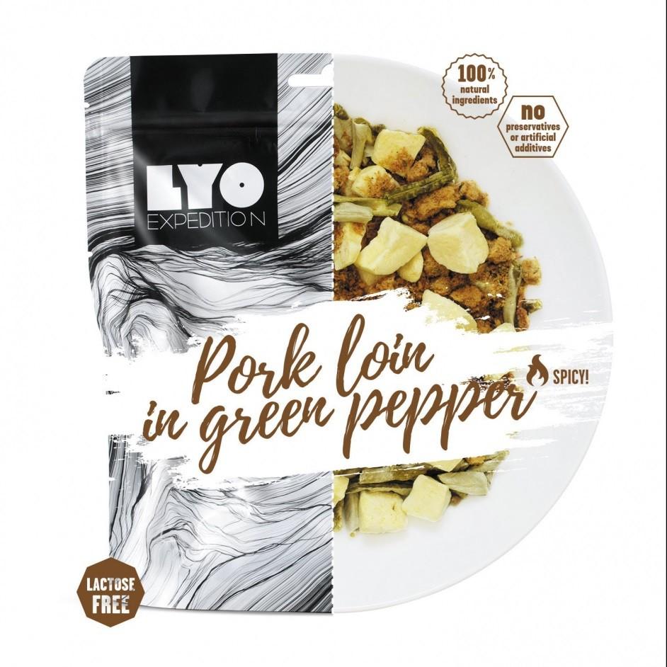Lyo Food Varkenshaas in groene pepersaus
