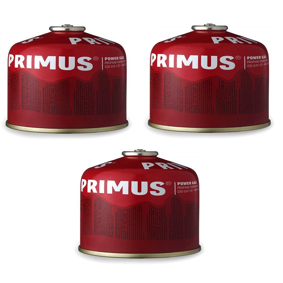 Primus Power Gas 230 Gram 3-Pack
